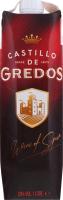 Вино 1л 13% червоне сухе Castillo de Gredos т/п