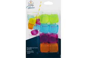 Smart Living Reuseable Ice Cubes - 8 CT