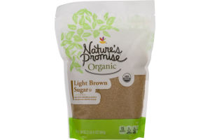Nature's Promise Organic Light Brown Sugar