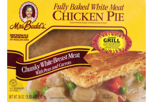 Mrs. Budd's Chicken Pie with Peas & Carrots Original