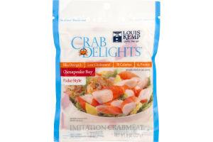 Louis Kemp Crab Delights Chesapeake Bay Crabmeat Flake Style
