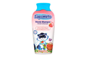 Шампунь-гель дитячий Frutti Rossi SapoNello 250мл