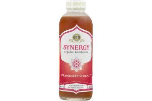 Synergy Organic & Raw Kombucha Drink Strawberry Serenity
