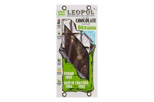 Шоколад без цукру з какао Молочний Green series Leopol' к/у 75г