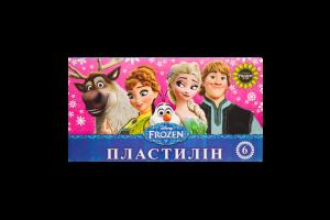 Пластилин Frozen Мицар Ц558010У 6цв 105г