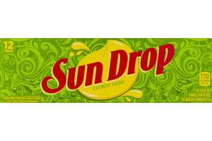 Sun Drop Citrus Soda - 12 PK