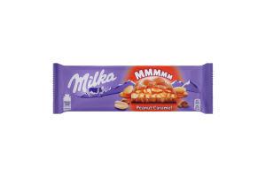 Шоколад молочний з дутим рисом Peanut Caramel Milka м/у 276г