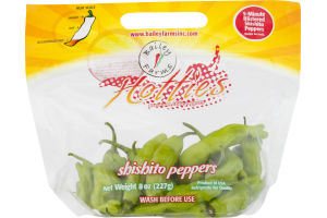 Bailey Farms Hotties Shishito Peppers
