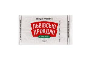 Дріжджі пресовані хлібопекарські Класичні Львівські дріжджі м/у 1кг