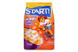 Хлопья кукурузные медовые Start! м/у 700г