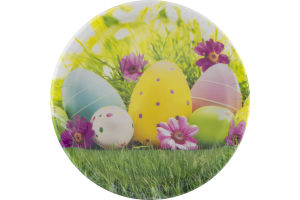 Smart Living Easter Scene Plates 8 3/4 in - 8 CT