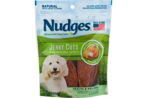 Nudges Dog Treats Jerky Cuts Chicken