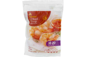 Ahold Colossal Cooked Shrimp 16-20 Per Pound
