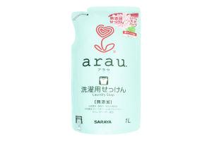 Рідина для прання одягу з ароматом герані Arau 1л з/упаковка