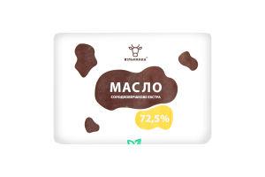 Масло 72.5% сладкосливочное Крестьянское Вільнянка м/у 200г