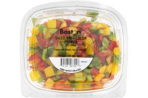 Boston Fresh Diced Tri-Color Pepper