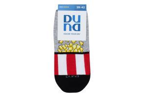Шкарпетки чоловічі Duna №7017 25-27 світло-сірий