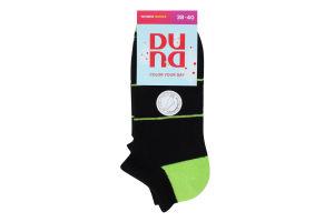 Шкарпетки жіночі Duna №3098 23-25 чорний