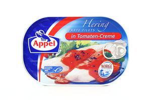 Сельдь филе в томатном креме Appel 200г