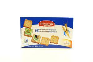 Тосты пшеничные диетические Minigrill к/у 120г