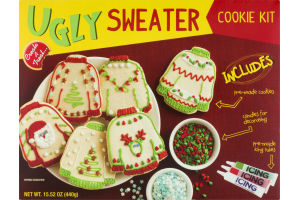 Ugly Sweater Cookie Kit Create A Treat629014011453 Customers