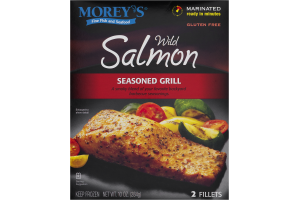 Morey's Wild Salmon Seasoned Grill - 2 CT