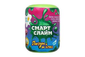Іграшка для дітей від 3років №SLI03 Смарт Слайм Лизун-м'ялка Genio Kids 1шт