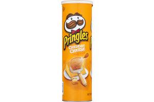 Pringles Potato Chips Cheddar Cheese