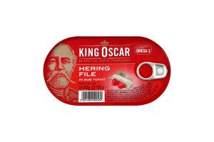 Сельдь King Oscar филе в томатном соусе