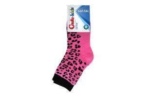 Шкарпетки дит. SOF-TIKI 7С-46СП, р.18, 225 рожевий 1 шт
