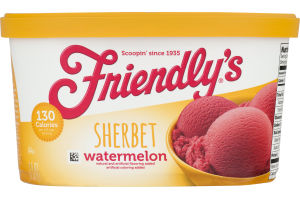 Friendly's Sherbet Watermelon