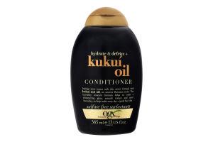 Кондиціонер для волосся з олією гавайського горіха OGX 385мл