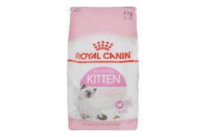 Корм сухий для котів Second Age Kitten Royal Canin м/у 4кг