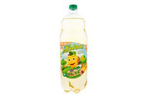 Напій безалкогольний сильногазований з соком яблука Живчик п/пл 2л