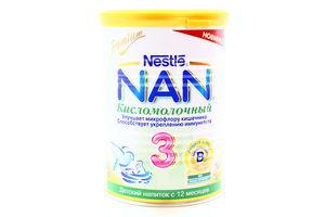 Суміш Nan Premium кисломолочний 3 400г х12