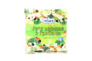 Смесь овощная замороженная Рагу овощное с грибами Лімо м/у 400г