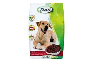 Корм д/дорослих собак з яловичиною сухий 3кг Дакс
