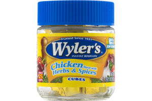Wyler's Instant Bouillon Reduced Sodium Chicken Cubes