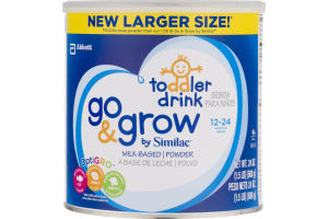 Abbott Toddler Drink Go & Grow By Similac Milk-Based Powder 12-24 Months