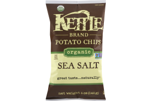 Kettle Brand Potato Chips Organic Sea Salt
