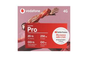 Пакет стартовый SuperNet Pro Vodafone 1шт