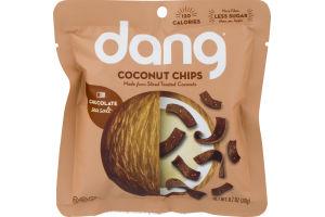 Dang Coconut Chips Chocolate Sea Salt