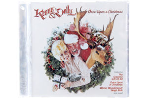 Kenny & Dolly Once Upon A Christmas CD