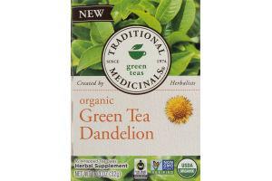 Traditional Medicinals Green Teas Organic Green Tea Dandelion Tea Bags - 16 CT