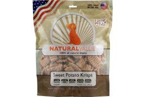 Loving Pets Natural Value Treats Sweet Potato Krisps