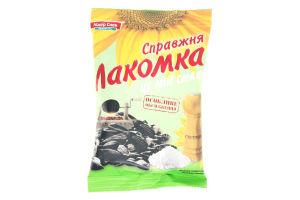 Семена подсолнечника жареные солёные Лакомка м/у 120г