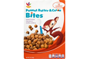 Ahold Peanut Butter & Cocoa Bites Cereal