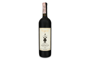 Вино 0.75л 12.5% червоне сухе Сапераві Bugeuli пл