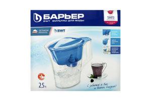 Фільтр-глечик для очищення води 2.5л Танго Барьер 1шт