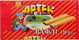 Вафлі ХБФ Артек 130г